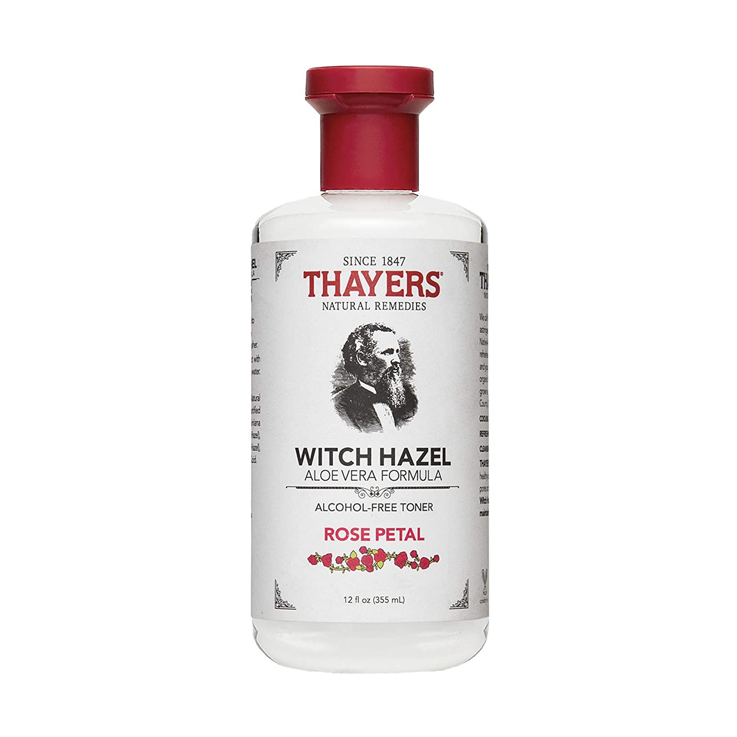 Thayers Alcohol-Free Rose Petal Witch Hazel Toner - 12oz (355ml) Thayer' s 7003