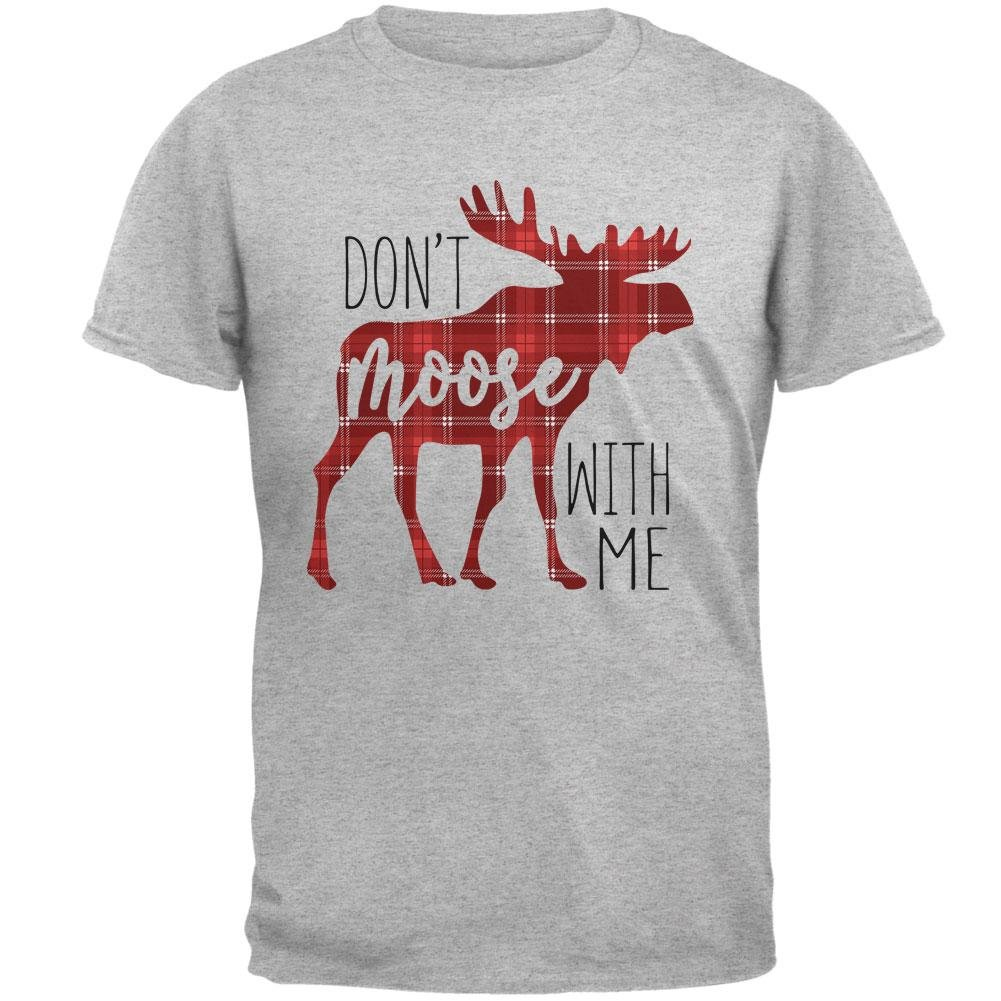 Autumn Don't Moose with Me Mens T Shirt 00176771
