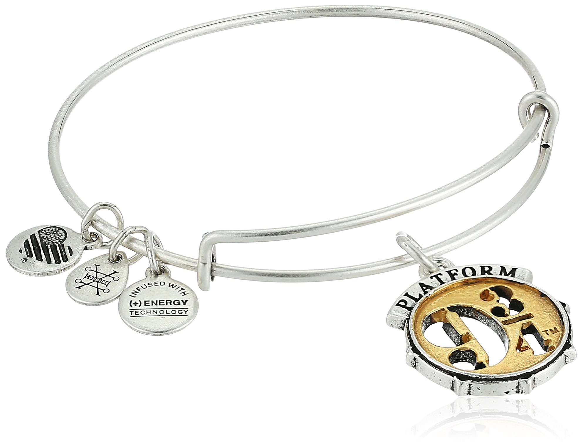 Alex and Ani Harry Potter Platform Two Tone Bangle Bracelet