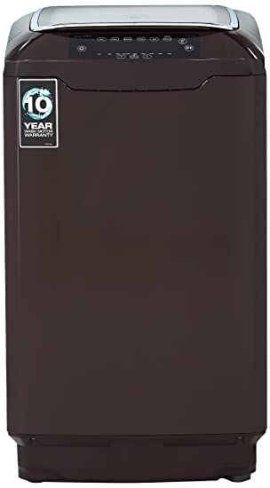 Godrej 7 kg Fully-Automatic Top Loading Washing Machine (WT EON Allure 700 PANMP, Coco Brown) Washing Machines & Dryers at amazon