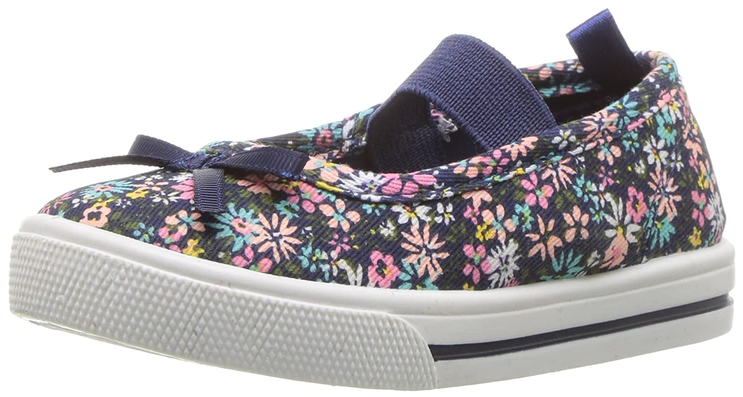 Carter's Kids Girl's Briana Floral Print Casual Maryjane Mary Jane Flat Carter' s CF180163