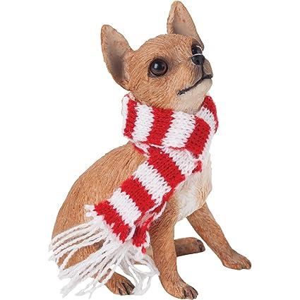 Chihuahua Tan Christmas Holiday Ornament - Amazon.com: Chihuahua Tan Christmas Holiday Ornament: Home & Kitchen