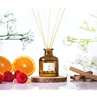 PRISTINE Inspired by Hilton Hotel Reed Diffuser | Reed Oil Diffuser, 50ml | Scented Diffuser with Notes of Tangerine…