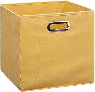 JJA 138885I Caja almacenaje Plegable Mostaza 31x31x31, Varios, U: Amazon.es: Hogar