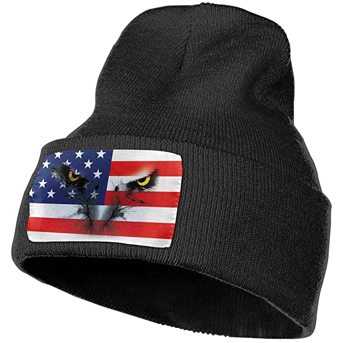 e3814532a9a5f Image Unavailable. Image not available for. Color  American Eagle Winter  Beanie Hat Soft   Warm Chunky ...