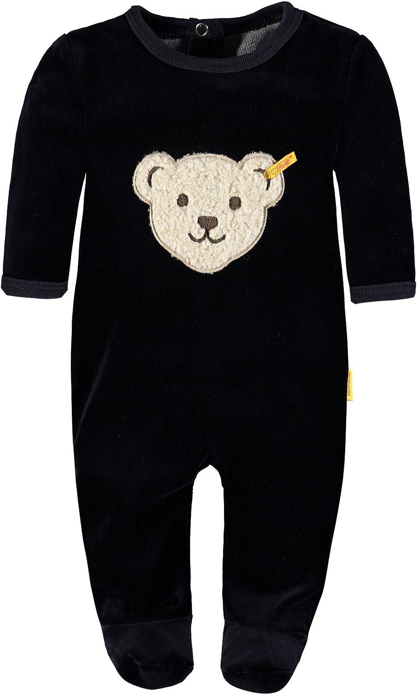Steiff Unisex Baby 0002892 1//1 Sleeves Romper