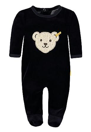 a7d75f512 Steiff Unisex Baby 0002892 1 1 Sleeves Romper  Amazon.co.uk  Clothing