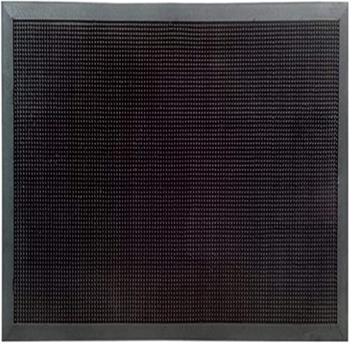 Imports Decor Rubber Door Mat, Rubber Studs, 32-Inch by 48-Inch