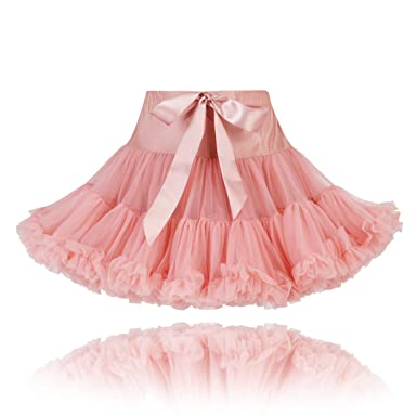 The Fairy Princess - Falda - para niña Rosa Rosa 4/5 Años: Amazon ...