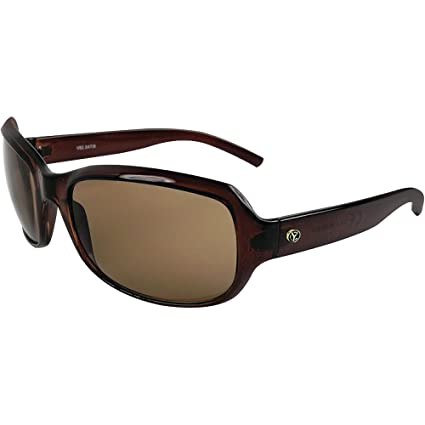 Yachters Choice 505-42934 Schoolie Gafas de Sol Polarizadas, Lente Marrón