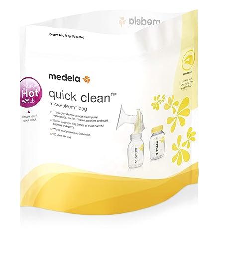 MEDELA - Medela Quick Clean 5 Sachets pour Micro-Ondes ...