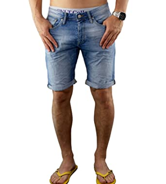Jones 025 Pant Jeans Hose Herren Short Kurze Rick Jackamp; Blau At 8wnOPk0