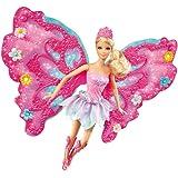 Mattel Barbie W4469 - Zauberhafte Blumenfee, blond, Puppe