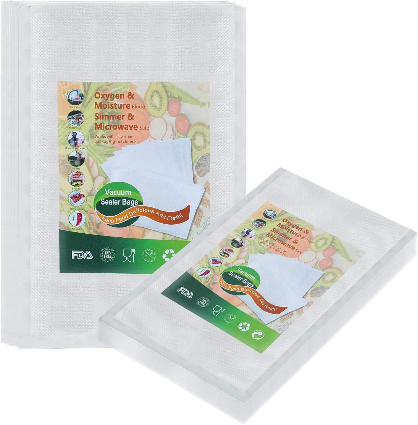 Vacuum Sealer-Bags Food-Saver Bags for Food-Storage - 200 Count(8