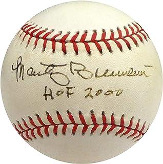 Marty Brennaman Autographed Signed Official MLB Baseball Cincinnati Reds Hof 2000 Beckett Bas #H75365