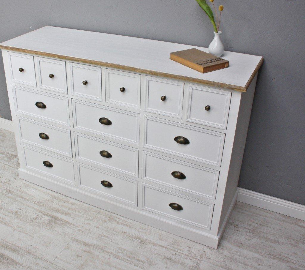 elbmöbel. de - Mueble de farmacia 15 cajones madera diseño ...