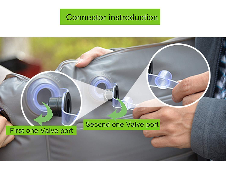 Topfit Coche Cama de aire Aire acondicionado Viaje en automóvil Colchón inflable Vehículo SUV Asiento para el modelo S y el modelo X 5: Amazon.es: Coche y ...