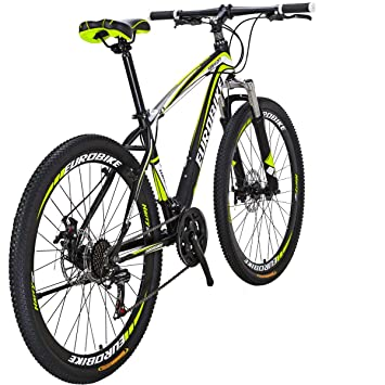 Amazon.com: Eurobike Moutain Bike TSMX1 Bicicleta de montaña ...