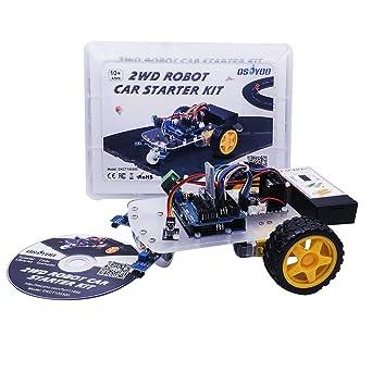 Osoyoo uno project smart 2wd robot car starter kit with uno r3 line osoyoo uno project smart 2wd robot car starter kit with uno r3 line tracking module malvernweather Choice Image