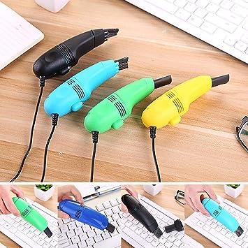 Suidone Aspirador de Teclado, Mini Aspirador de Teclado de computadora, Kit de Limpieza de Polvo de Cepillo de computadora portátil para PC: Amazon.es: Electrónica