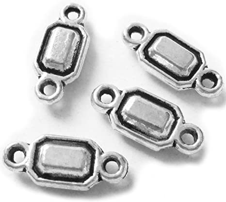 Free Ship 50PCS Tibetan Silver Spacer Beads For Jewelry Making 12x9mm