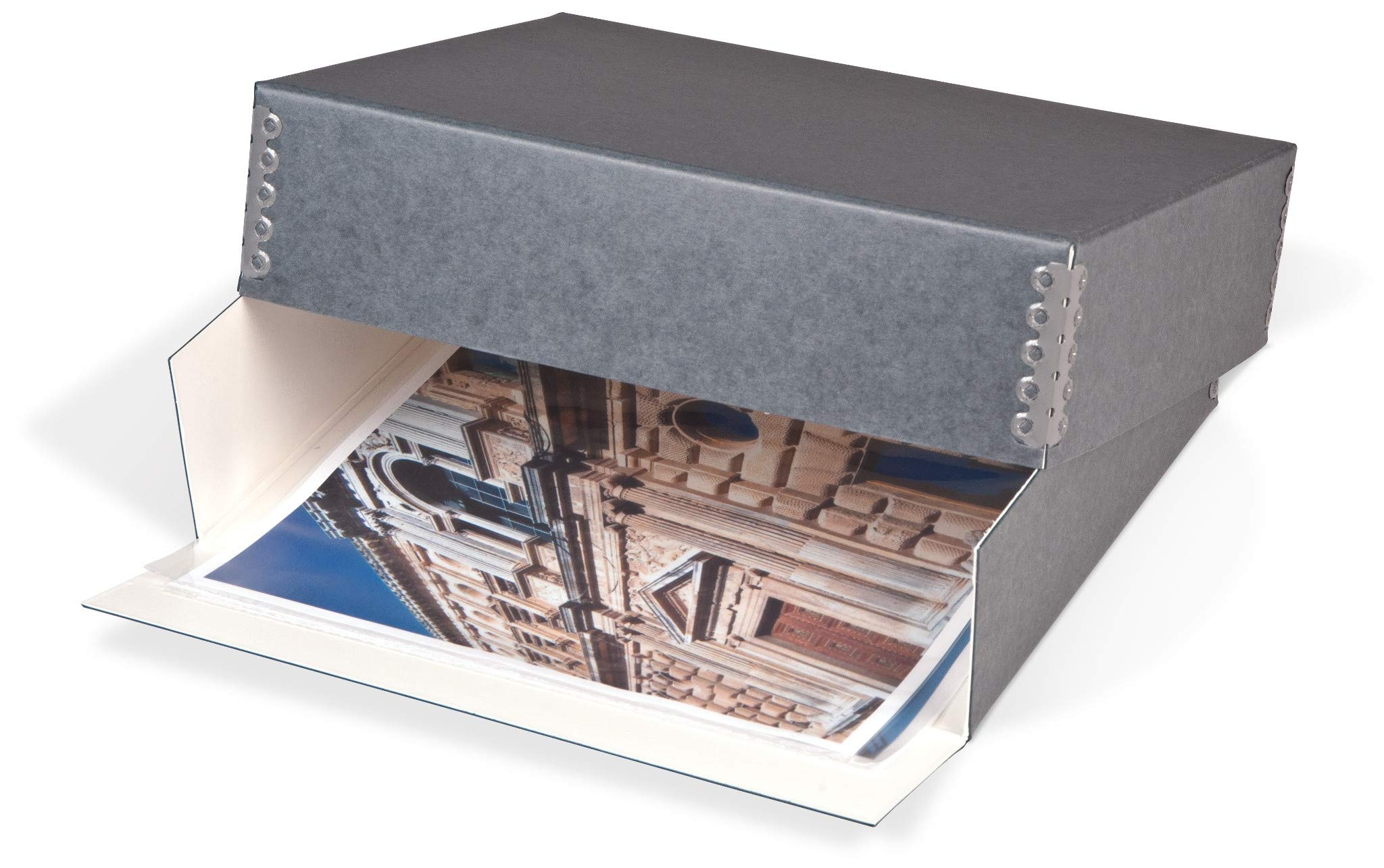 Gaylord Archival Drop-Front Deep Lid Photo/Print Preservation Box