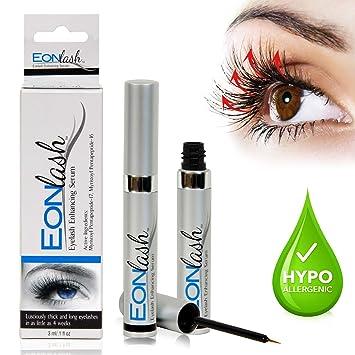 bade50d1157 EonLash Eyelash Growth Enhancer Serum - Brow Serum Best Natural Peptides  Formula for Thick, Longer
