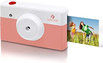 Amazon.com: Minolta Instapix 2 en 1 Instant Print Cámara ...