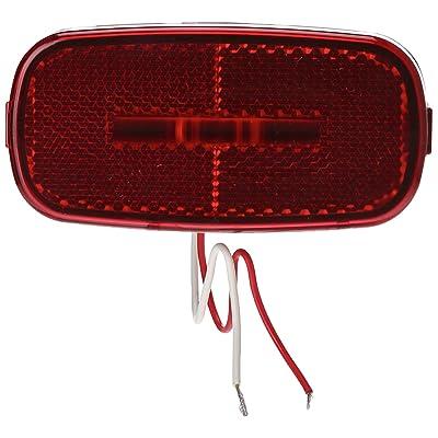 Kaper II L14-0104R-BLK Red 2 Diode LED Marker Light: Automotive [5Bkhe0917287]