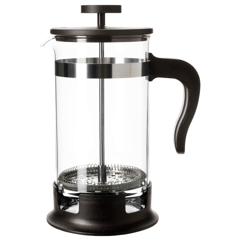 Home Ikea Upphetta 34oz Glass Stainless Steel French Press Coffee Tea Maker