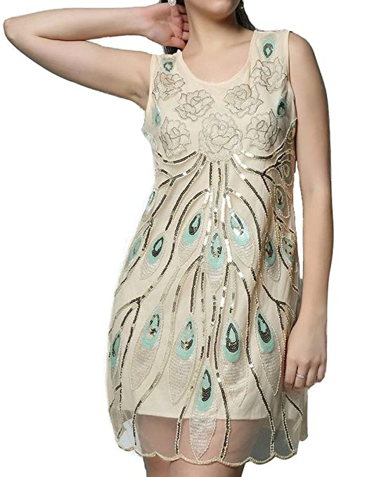 Amazon.com: Hblld Womens Flower Embroidered Cocktail Party Prom Dress Ball Gowns Beige: Clothing