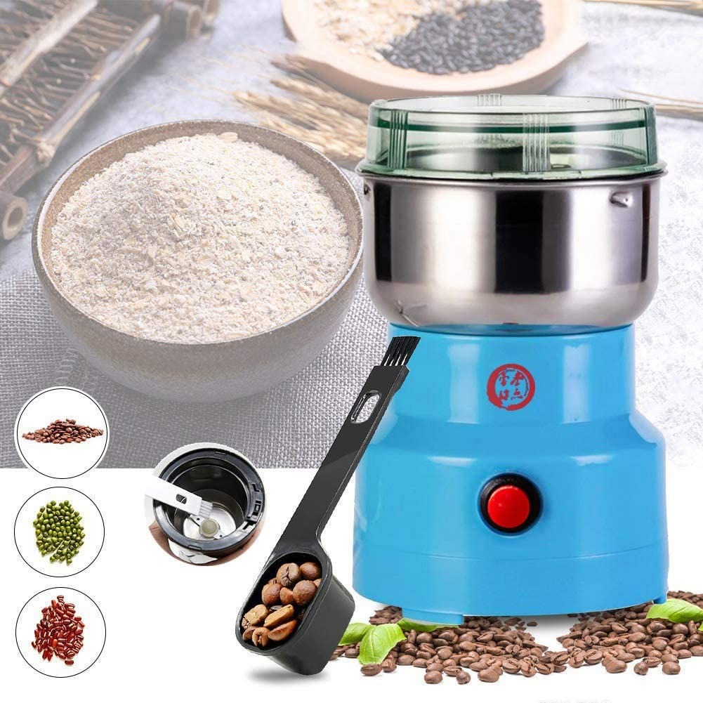 Multifunction Smash Machine, Electric Coffee Bean Milling Smash Grain Grinder Grain Mill Machine, Household Cereals Grain Seasonings Spices Machine Grinder for Daily Use.
