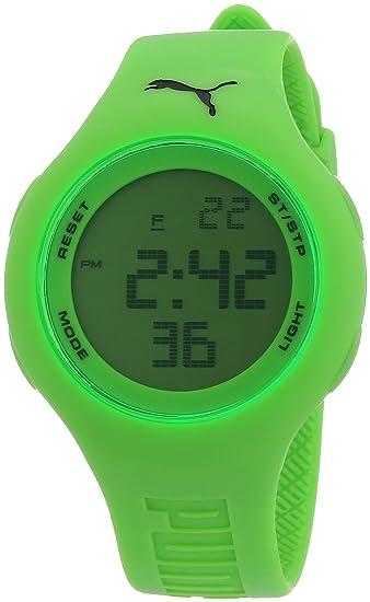 e34f297d5 Puma Loop Neon Green A.PU910801003 - Reloj digital de cuarzo para mujer