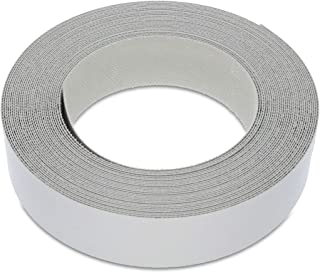 22mm Grey Melamine Edging, High Quality Pre-Glued Veneer Tape – 7.5m Roll - Iron-On for Easy DIY Application – Will Cover The Edge of a Standard MDF Panel