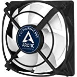 ARCTIC F12 Pro PWM PST - 120 mm PWM PST Case Fan | Vibration-Absorbing | PST-Port (PWM Sharing Technology) | ideal for Parallel Circuits of Fans