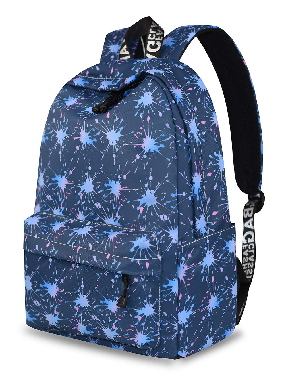 878fbccf4c2 Yanaier School Bookbags for Girls Cactus Waterproof Lightweight Canvas  Backpack for Girls Teenage Daypack Casual Travel Bag for Women Navy