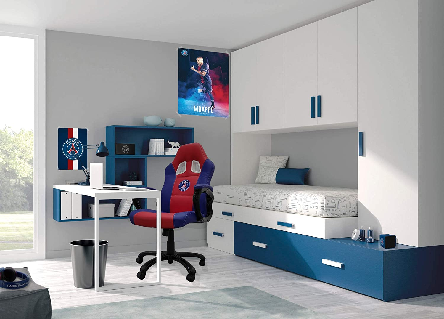 Paris Saint Germain Silla gaming - Sillón gamer de oficina ...