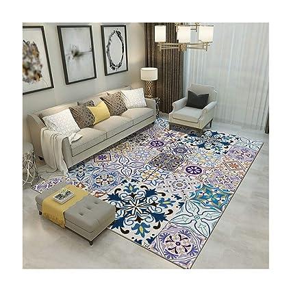 feef22beb830e Amazon.com: ZGP Interior Carpet Carpet Living Room Sofa Carpet Foyer ...