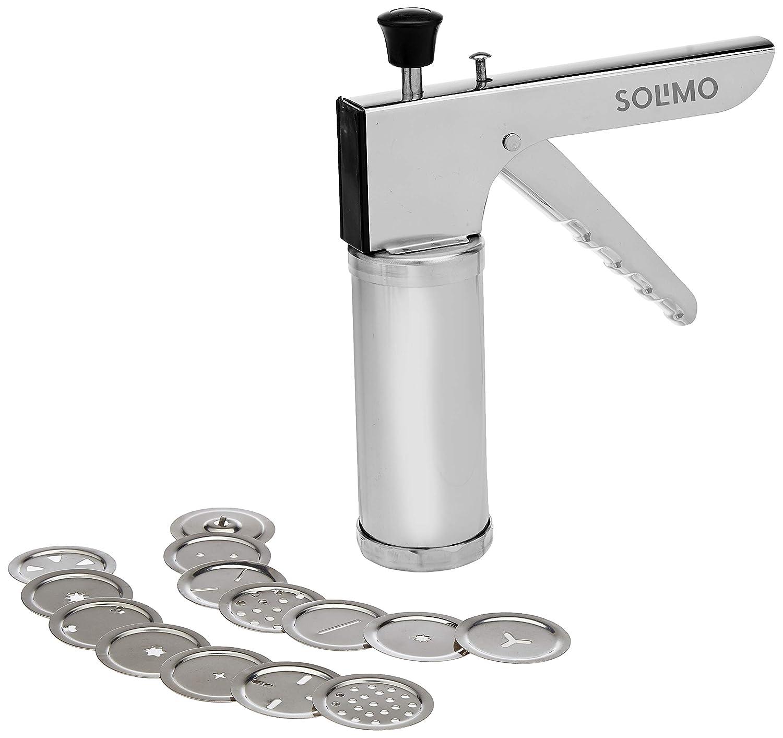Amazon Brand - Solimo Stainless Steel Kitchen Press/Noodles/Murukku maker