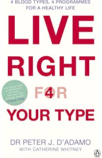 Eat right 4 your type the individualized diet solution the live right for your type the individualised prescription for maximizing health metabolism and fandeluxe Images