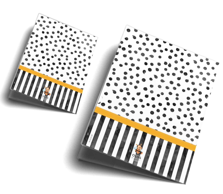 U-Heft Set personalisiert, Pinguin U-Heft H/ülle SET Creative Royal Untersuchungsheft /& Impfpassh/ülle wundersch/öne Geschenkidee personalisierbar mit Namen und Geburtsdatum