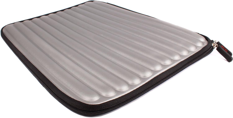 DURAGADGET Silver Memory Foam Laptop Case - Compatible with Acer Aspire V5-552 - 8404 | Aspire E5-511 & Aspire E5-571