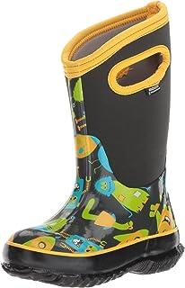 d25481b84f2129 Bogs Kids  Classic High Waterproof Insulated Rubber Neoprene Rain Boot Snow