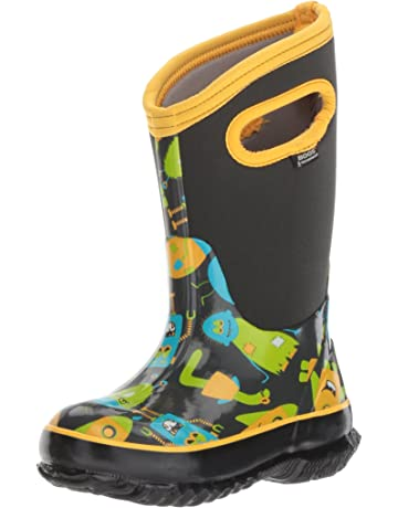 54472cad30254 Bogs Kids  Classic High Waterproof Insulated Rubber Neoprene Rain Boot Snow