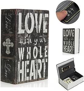 safetyon almacenamiento caja fuerte diccionario libro