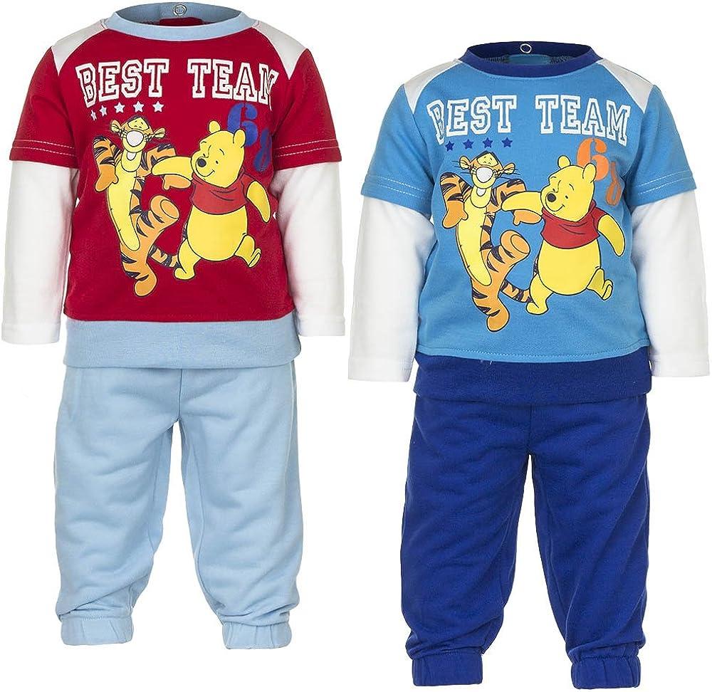 Disney Winnie The Pooh - Chaqueta Deportiva - para bebé niño Rojo ...