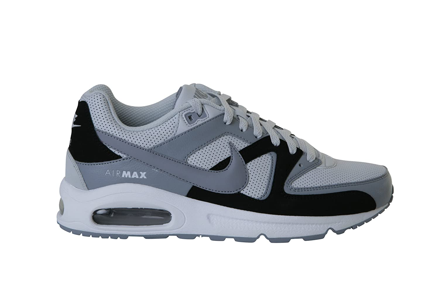 ... NIKE Air Max Command Leather 409998 099 Trainers for Men Amazon.co.uk  Shoes ... 4f6923f858a