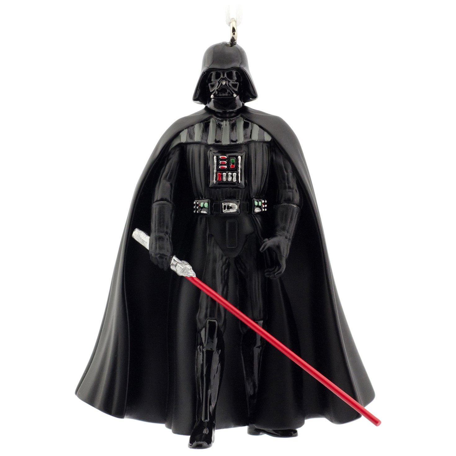 Amazon.com: Hallmark Star Wars Darth Vader Christmas Ornament ...