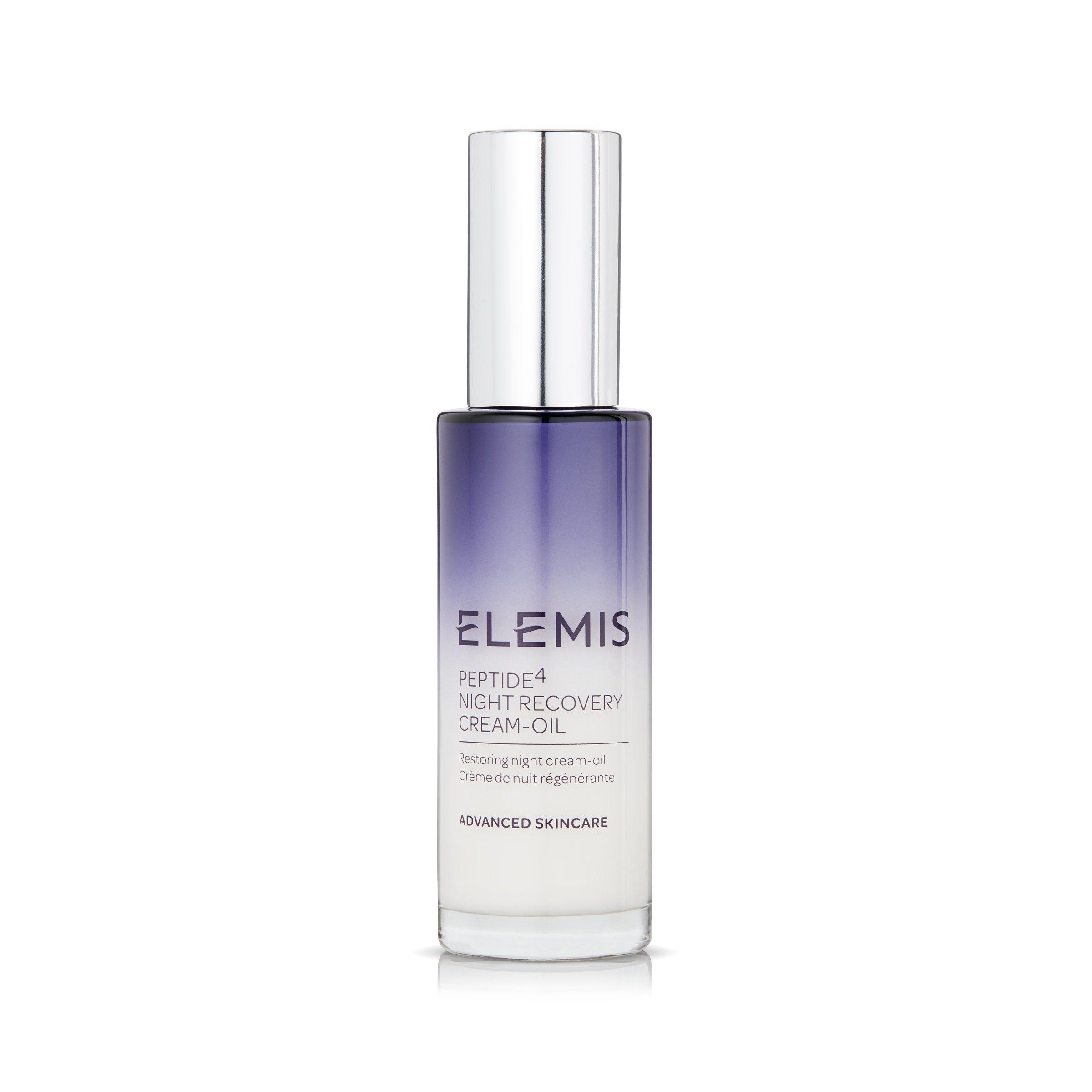 ELEMIS Peptide⁴ Night Recovery Cream-Oil, Restoring Night Cream-Oil, 1.0 fl. oz