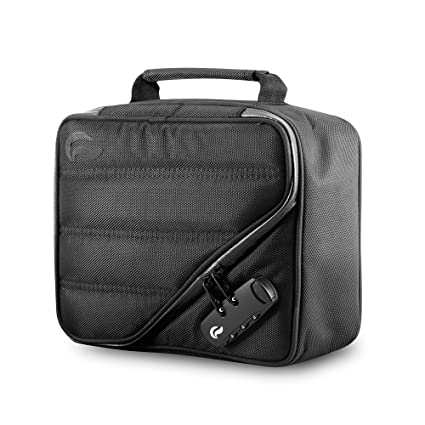 eace54f7a2 Skunk PILOT Case - Smell Proof - Water Proof - With Combination Lock (Black)